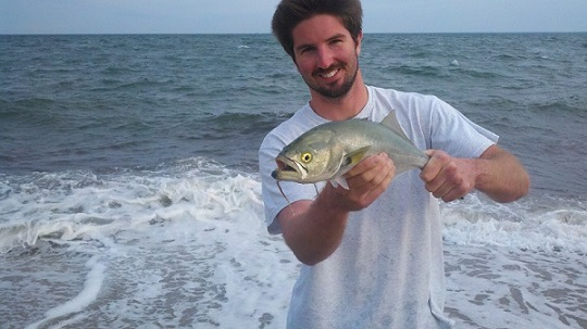 fishing for bluefish on cape cod