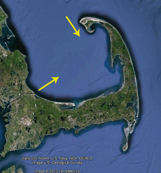 Cape cod fishing spot of the month cape cod bay for Fishing cape cod