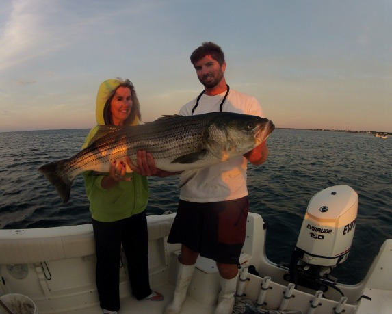 Huge striped bass the 3 keys to catching them for Striper fishing cape cod