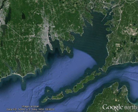 buzzards bay fishing map