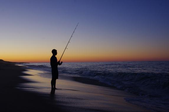 national seashore sunset