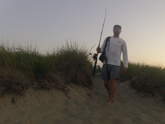 cape cod fishing report august 15 dune path