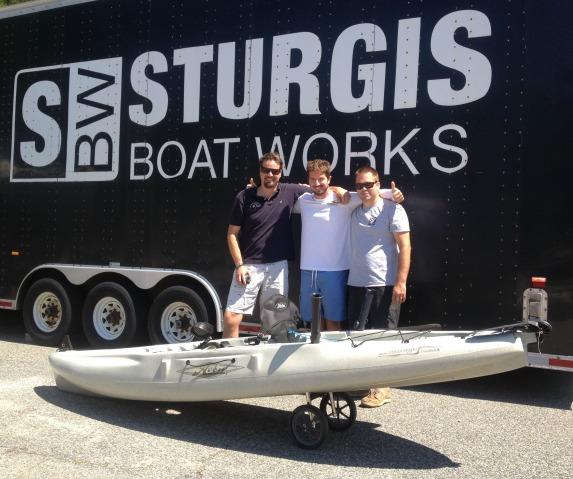sturgis boat works hobie kayak