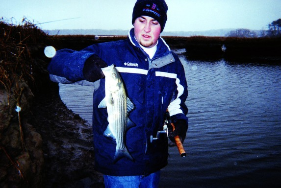 Targeting early season stripers on cape cod for Striper fishing cape cod