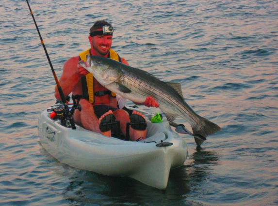 Gearing up to kayak fish the cape for Cape cod fishing