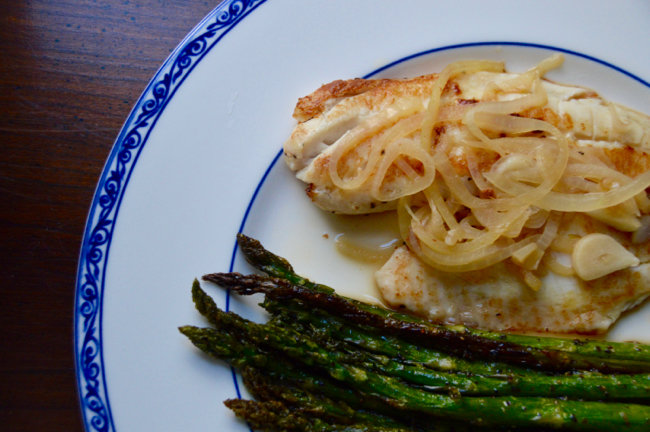 Pan Seared Tilapia with High Hook Wine post image