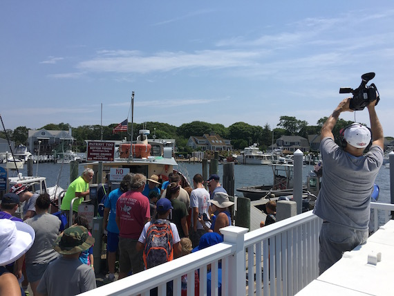 Fishing the george keegan memorial tournament for Cape cod fishing party boats