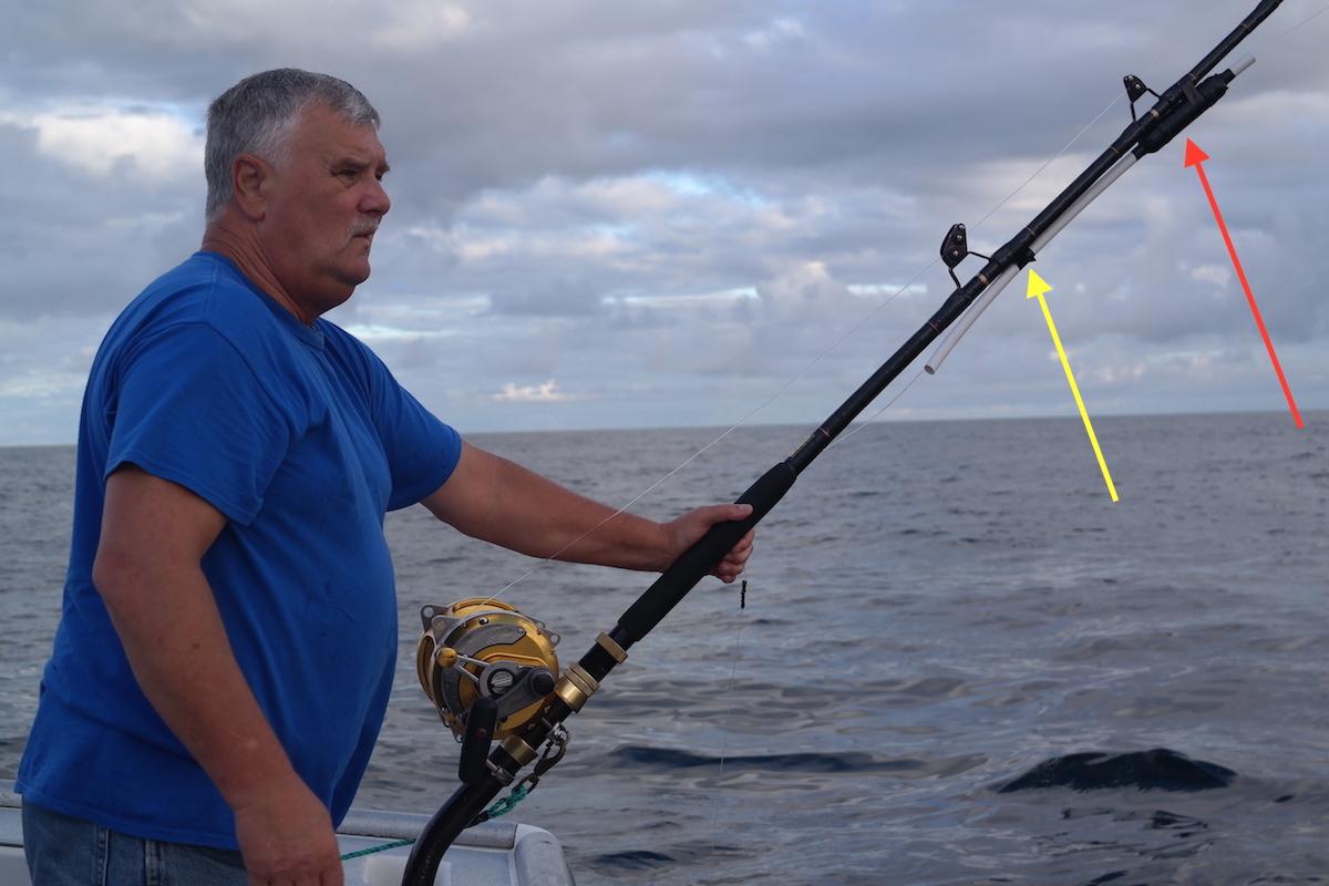 How to use tuna bombs when fishing for giant bluefin tuna for Tuna fishing pole