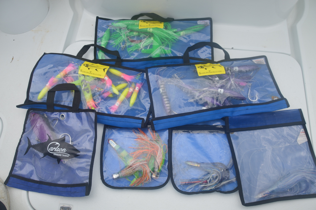 "blue Fishing Lure Bags,54/"" x 10/""Spreader bar Bags"