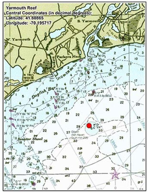 Help To Enlarge The Yarmouth Artificial Reef My Fishing Cape Cod